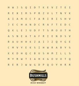 Bushmills word puzzle