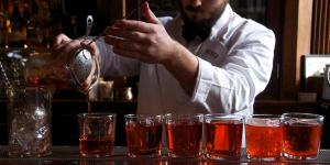 Beefeater negronis