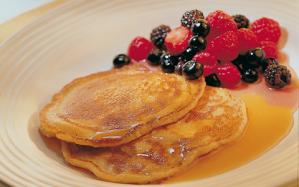Bord B warm pancakes