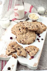 flas choc cookies