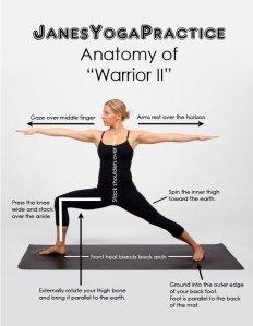 warrior 2 pose