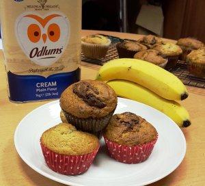 odl banana muffins