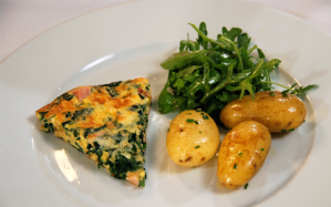 ham-and-spinach-frittata