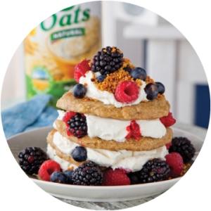 fla simple oat pancakes fb apr 16