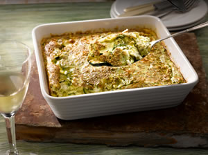 Simple-Souffle-with-Courgettes-and-Herbs