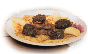 black-pudding-with-apple