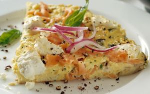 Smoked-Salmon-and-Cream-Cheese-Frittata
