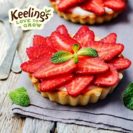 strawberry-and-cream-tart