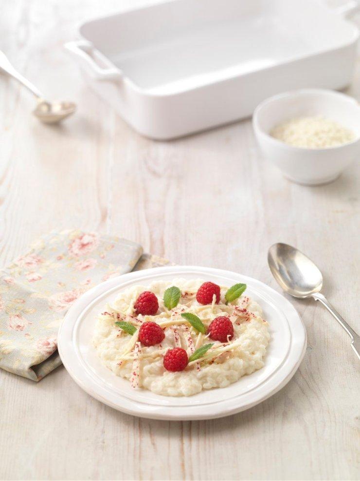 lakeland choc rice pudding