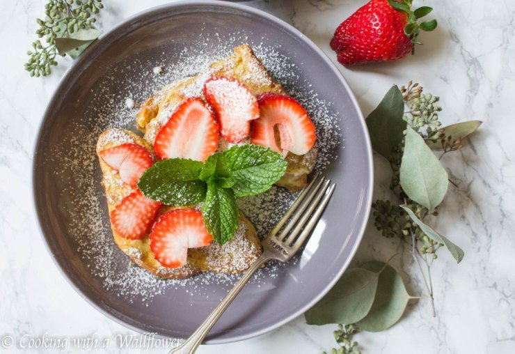 andrea peanut butter french toast
