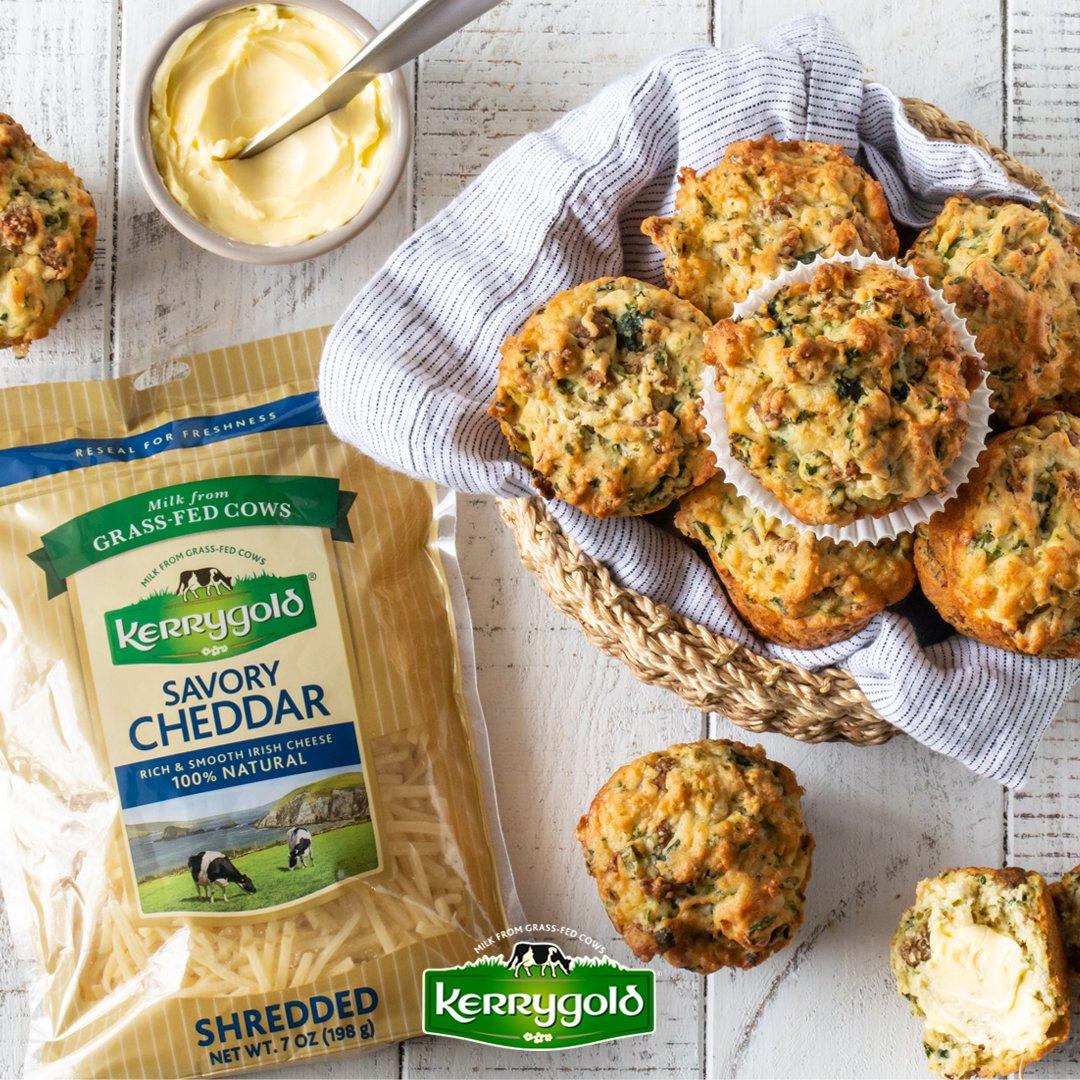 kerrygold usa cheese breakfast muffins