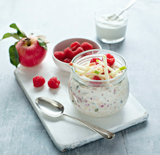 flahavans overnight oats and fruit