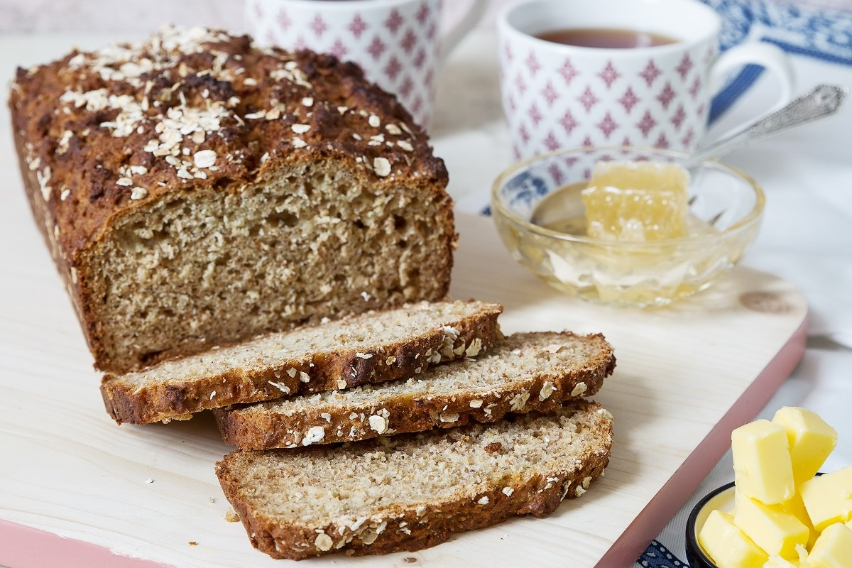 Honey-Oat-Quick-Bread