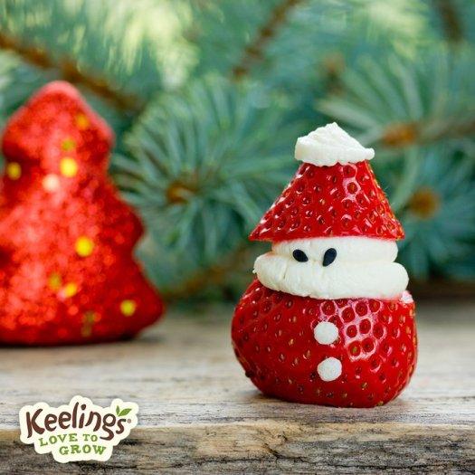 keelings strawberry christmas