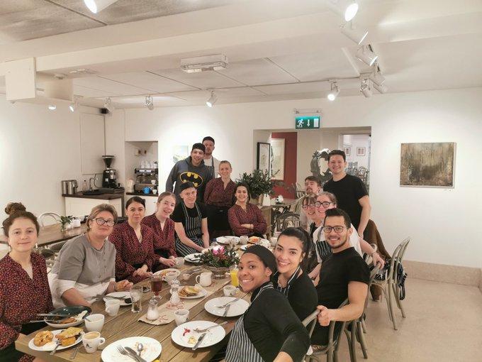 nash staff christmas breakfast