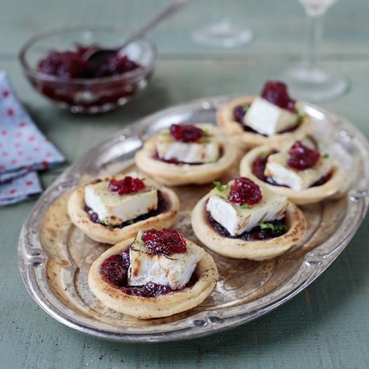 odlums cranberry brie tarts