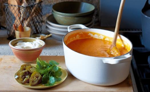 Roast-Squash-Chilli-Coriander-Soup