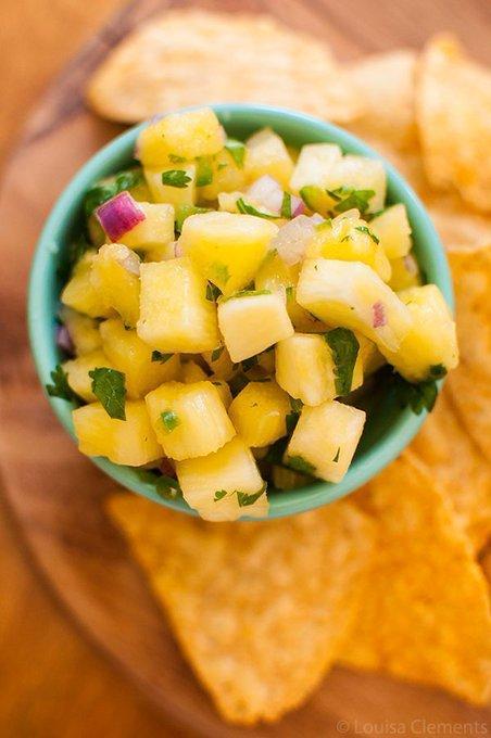 del monte pineapple salsa