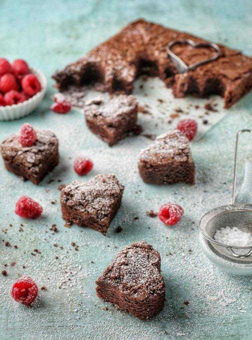 odlums valentine brownies