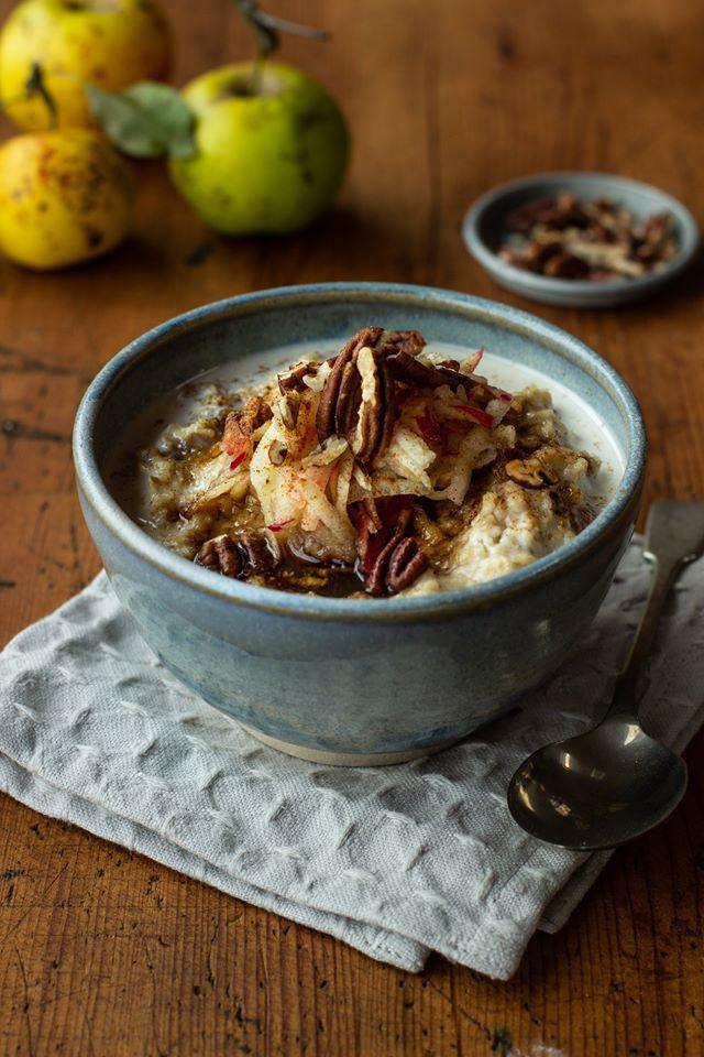 flahavans apple pecan porridge