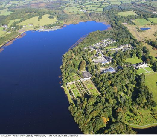 lough rynn from the air