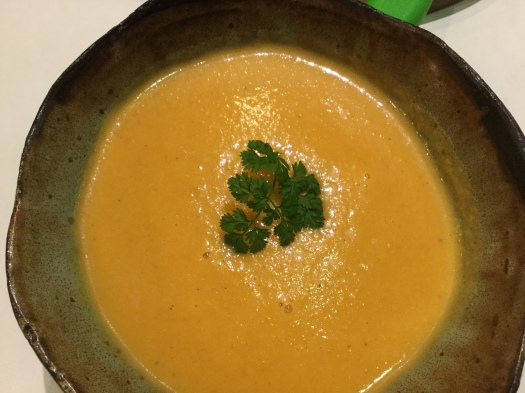 Carrot-Mint-Soup-(Carrot-Lovage-Soup)-(Carrot,-Chive