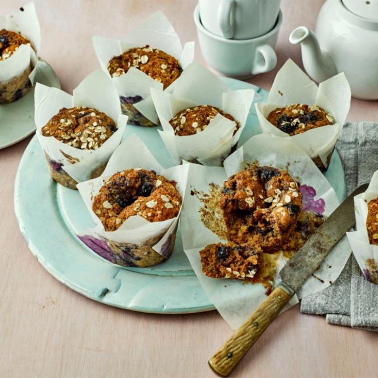 flahavans blueberry muffins