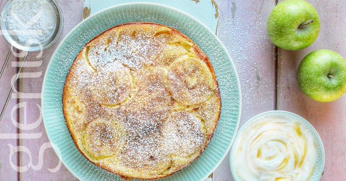 glenisk apple pancakes