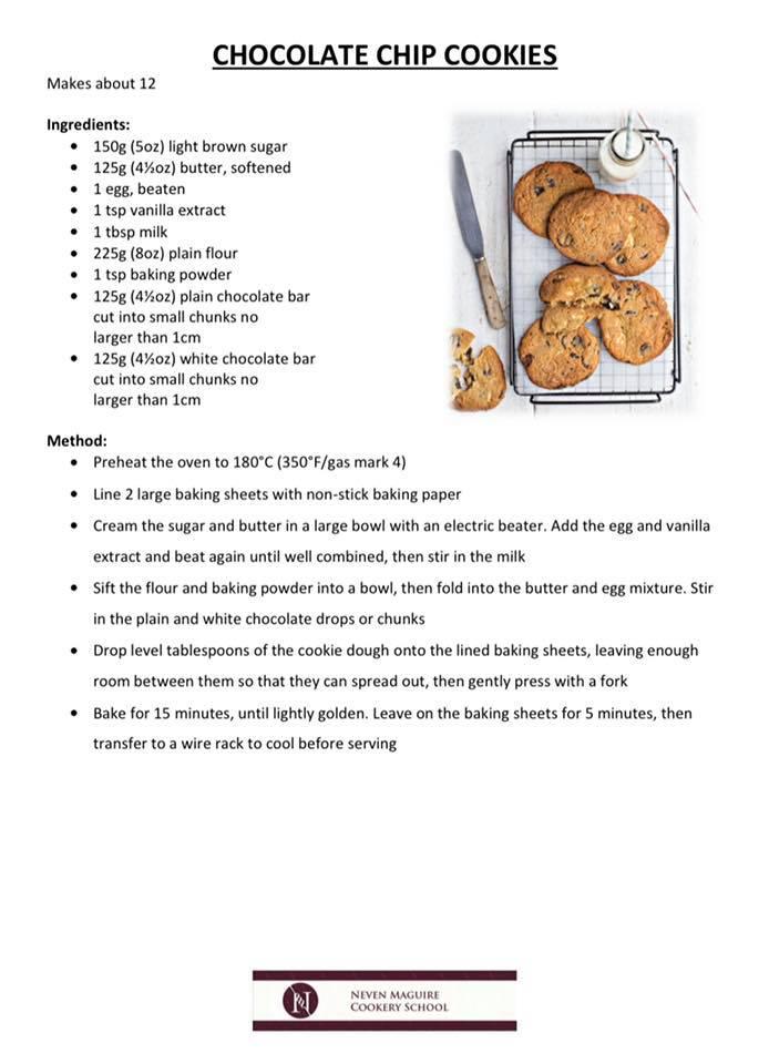 macnean choc chip cookies