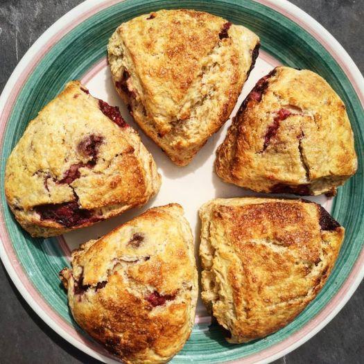 doireanns raspberry scones