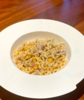 macnean sweetcorn pasta