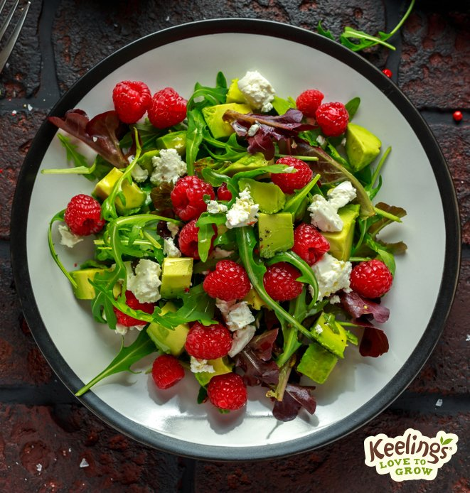 keelings raspberry salad