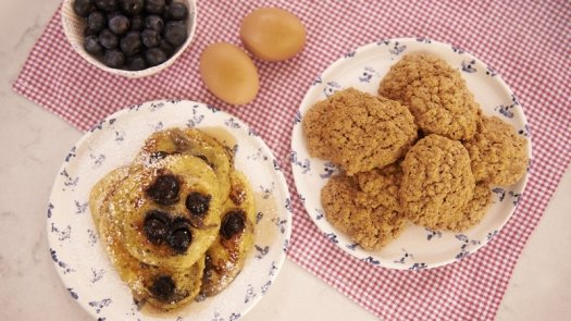 rachel blueberry pancakes