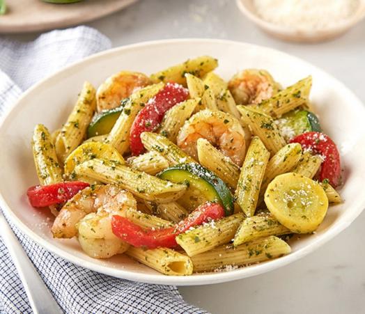Screenshot_2020-08-01 Barilla® Pesto, Shrimp, and Squash Pasta