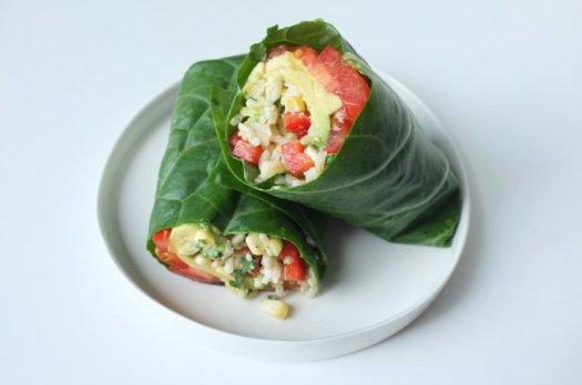 cleveland veggie wrap