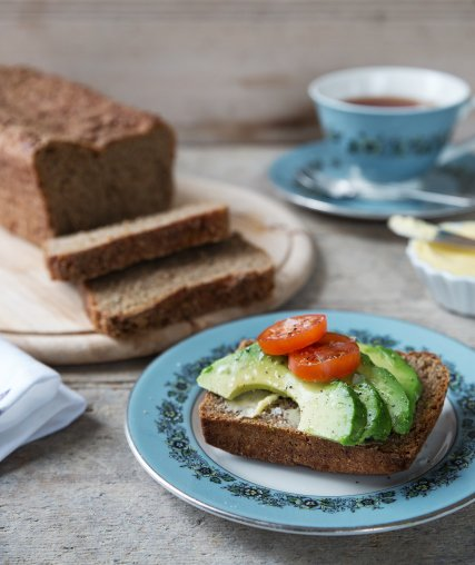 odlums rye with avo