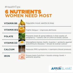 6 nutrients for women tw 23716